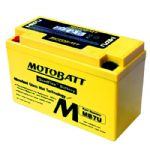 MOTOBATT High Torque Battery: YT7-B4, YT7B-BS, CT9B-4. 12V/6.5AH Battery Upgrade. 100 Cca!